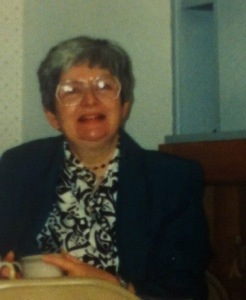 Mom (Nancy Douthwaite) in a 1993 photo from our home in West Des Moines, IA