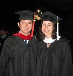 Pastor Adam Douthwaite and his wife, Deaconess Sarah Douthwaite