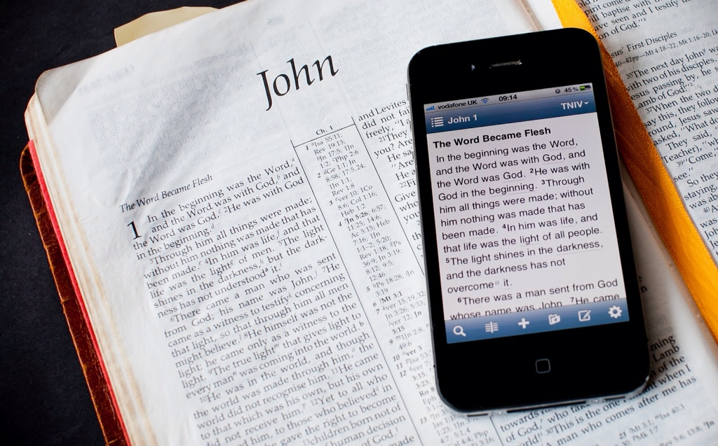 John Farquhar Plake on The Living Word in the Digital Age