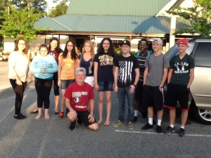 SOTC YouthWorks mission team 2014 ready to depart on Sunday morning
