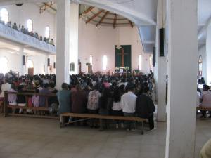 A Lutheran church in Antananarivo