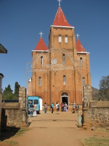 Oldest Lutheran church in Madagascar