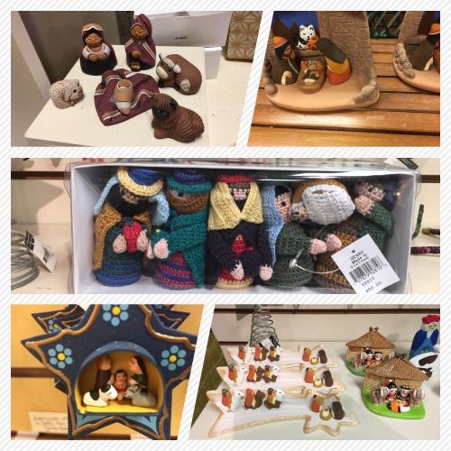 nativity collage