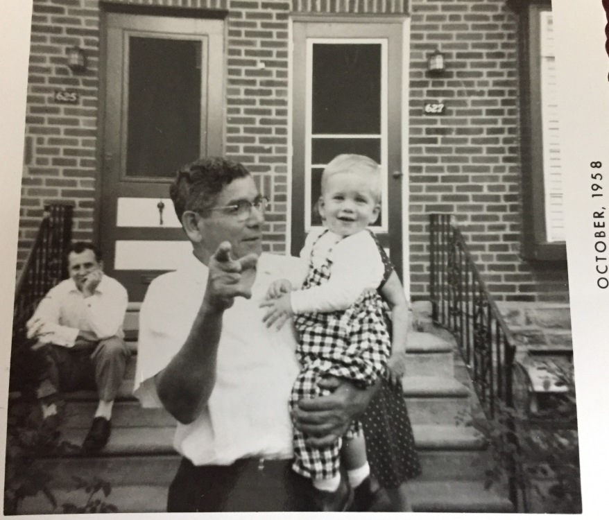 Me with grandpa golcher