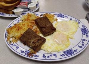 eggs and livermush